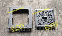 Дверцята прочистная сажотруска чавунна (110х130 мм)