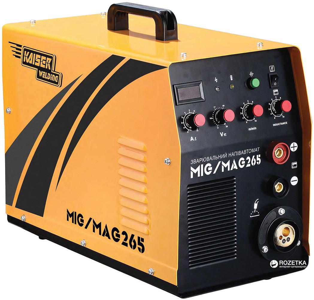 Полуавтомат сварочный инверторный Kaiser MIG 265 2в1