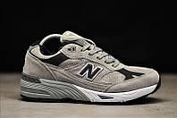 Кроссовки мужскиеNew Balance 991 Suede Gray.Стильные кроссовки.