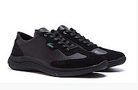Мужские кожаные кроссовки Lacoste Lerond замш, фото 1
