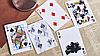 Трюкова колода   Bicycle Chic Gaff (Red) Playing Cards by Bocopo, фото 4