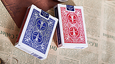 Трюкова колода   Bicycle Chic Gaff (Red) Playing Cards by Bocopo, фото 2