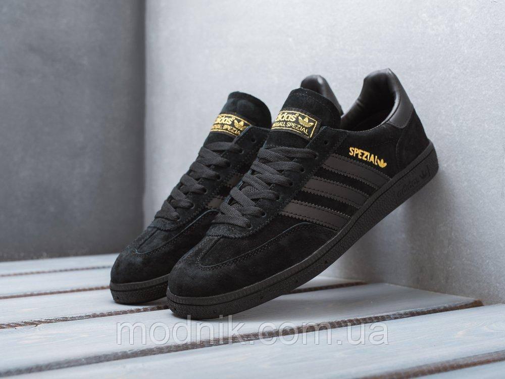 Мужские кроссовки Adidas Spezial (черные) D25