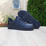 Женские кроссовки Nike Air Force (черные) 20201, фото 4