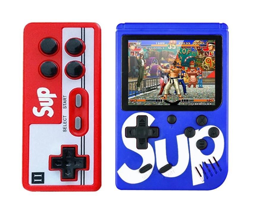 Игровая приставка (Игровая консоль) Game Box sup 400 игр в 1 + джойстик Blue