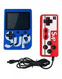 Игровая приставка (Игровая консоль) Game Box sup 400 игр в 1 + джойстик Blue, фото 3