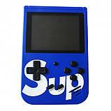 Игровая приставка (Игровая консоль) Game Box sup 400 игр в 1 + джойстик Blue, фото 2