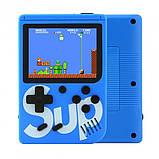 Игровая приставка (Игровая консоль) Game Box sup 400 игр в 1 + джойстик Blue, фото 4