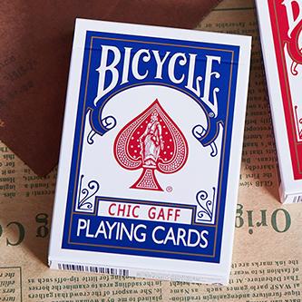 Трюковая колода | Bicycle Chic Gaff (Blue) Playing Cards by Bocopo