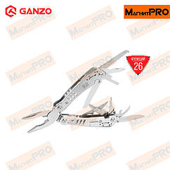 26 в 1 мультитул Multi Tool Ganzo G301-H с хромированным корпусом