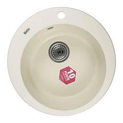 Мойка каменная Ventolux FABIA (CREMA) D500x200 Кремовая
