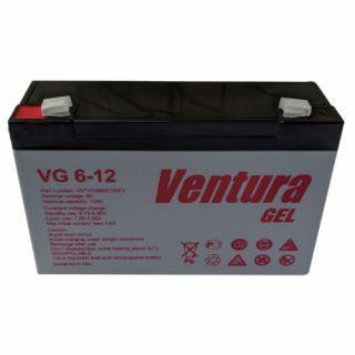 Акумуляторна батарея GEL Ventura VG 6-12 Ah 6V