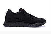 Чоловічі шкіряні кросівки Merrell vlbram black чорні