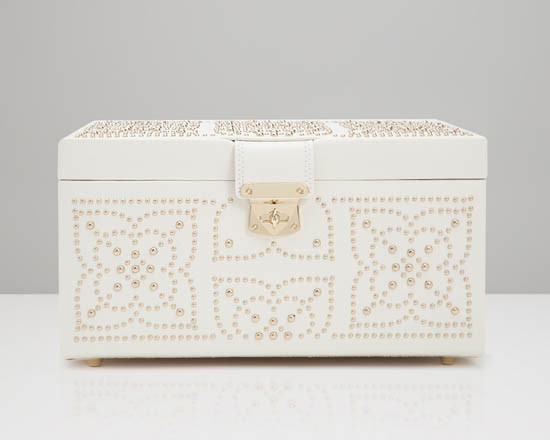 Шкатулки для украшений Wolf 308153 Marrakesh Med Box Cream