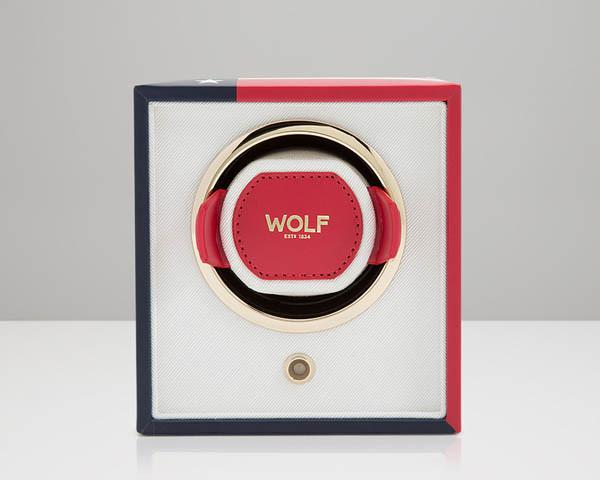 Шкатулки для подзавода Wolf 462304 Cub Single Winder USA Flag