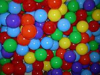 Мячики шарики для палаток и сухого бассейна, 100 штук диаметр 8.2. Украина Т
