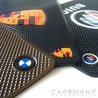 Автомобильный коврик для мобильного телефона с логотипом авто