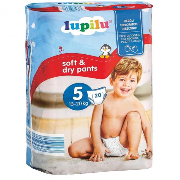 Трусики Lupilu Soft & Dry Pants 5 (13-20) 20 шт
