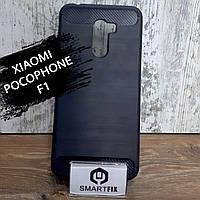 Противоударный чехол для Xiaomi Pocophone F1 Ultimate Черный