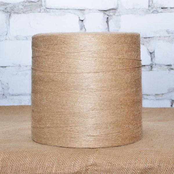 Шпагат джутовый 10 кг, 2.5 мм, 2 нити