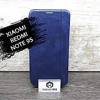 Чехол книжка для Xiaomi Redmi Note 9S Gelius Синий