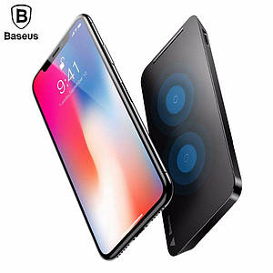 Baseus multifunctional wireless charging pad for phone desktop with holder(With Type-C cable)Black