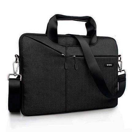 Cумка WIWU Gent Brief Case for MacBook 13 Black, фото 2