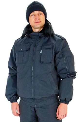 Куртка утепл. ГЕТЬМАН-1, чорний, сумішева
