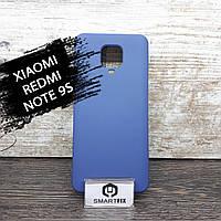 Силиконовый чехол для Xiaomi Redmi Note 9S Full Soft Синий