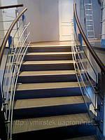 Перила и лестницы из стекла. Заказать, цена, Киев