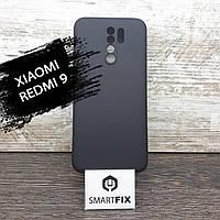 Силіконовий чохол для Xiaomi Redmi 9 Full Soft Чорний