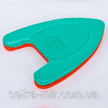 Доска для плавания EVA PL-5920 (EVA, р-р 39x27x4см, цвета в ассортименте) Красно-зеленый
