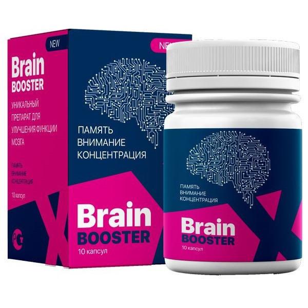 Капсулы BrainBoosterX для увеличения мозговой активности