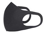 Маска питта трехслойная (комплект - 5 шт).. Цвет - черный. Защитная, антивирусная, многоразовая, фото 6