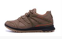 Мужские кожаные кроссовки Merrell vlbram olive, фото 1