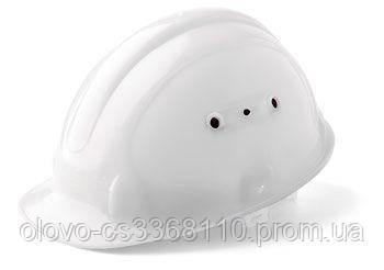Каска захисна біла (PK-0000)