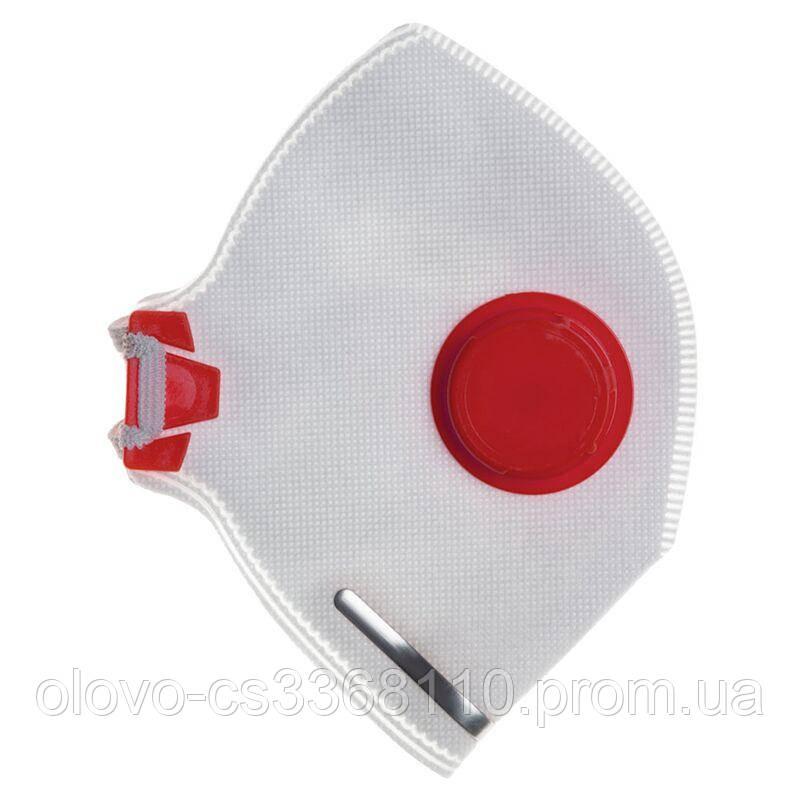 Респіратор Росток з клапаном червоний (DR-0003)