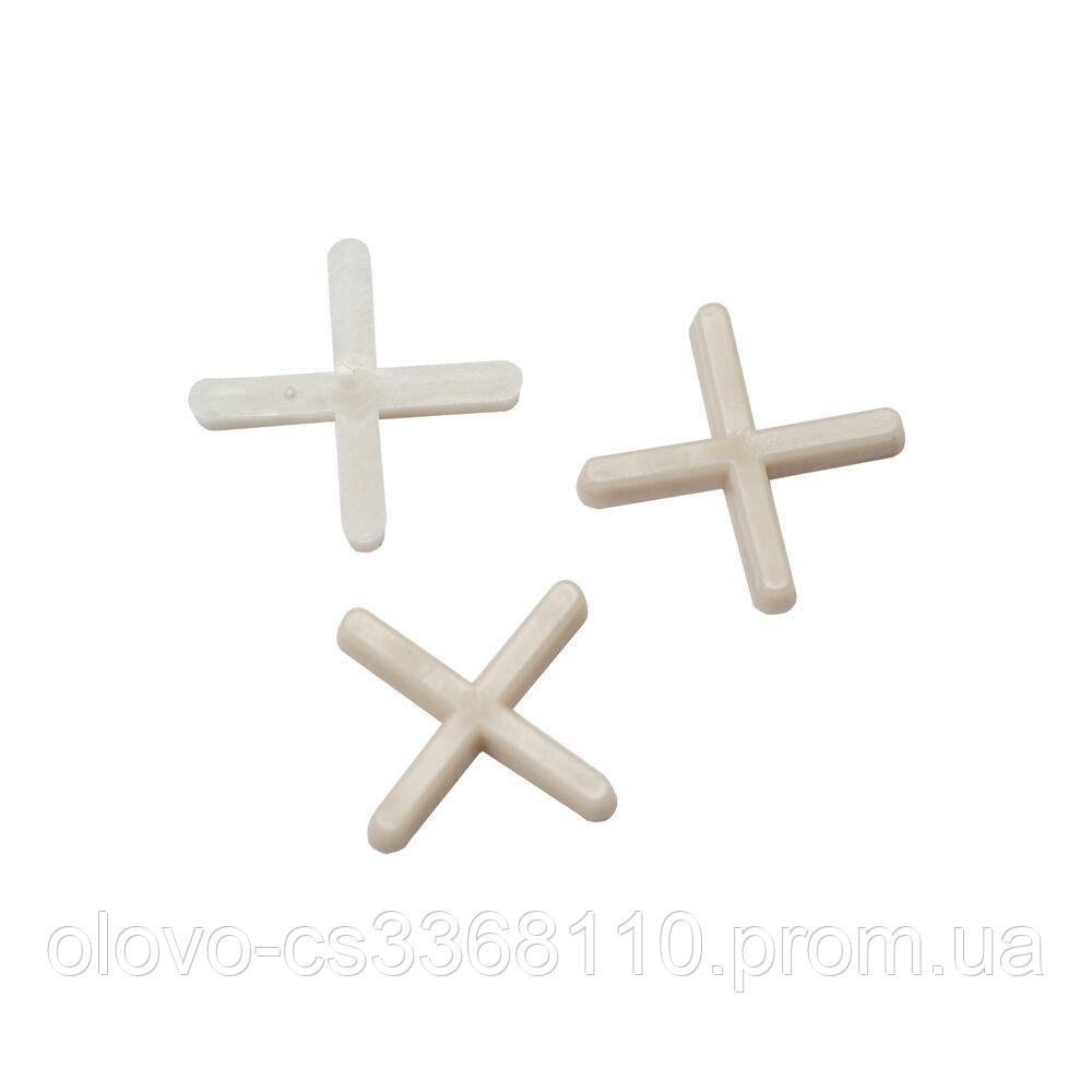 Хрестик дистанційний для плитки 1,5 мм, 120 шт (8241525)