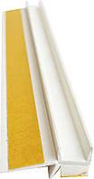 Профиль оконный примыкания с манжетой(примыкающий) 9мм без сетки, фото 1