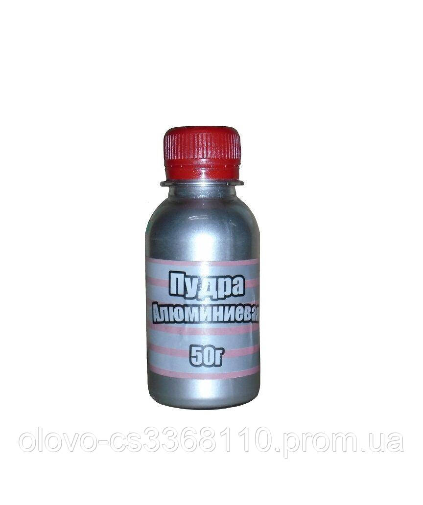 Пудра алюмінієва Ремпласт 50 г, пляшка
