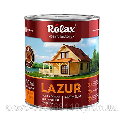 Лазур Premium №101 Rolax, 0.75 л, жовта