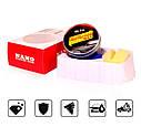 Твердый воск карнаубский Carnauba NANO protection waf MR. Fix  120 гр. ухода за краской + губка и полотенце, фото 3