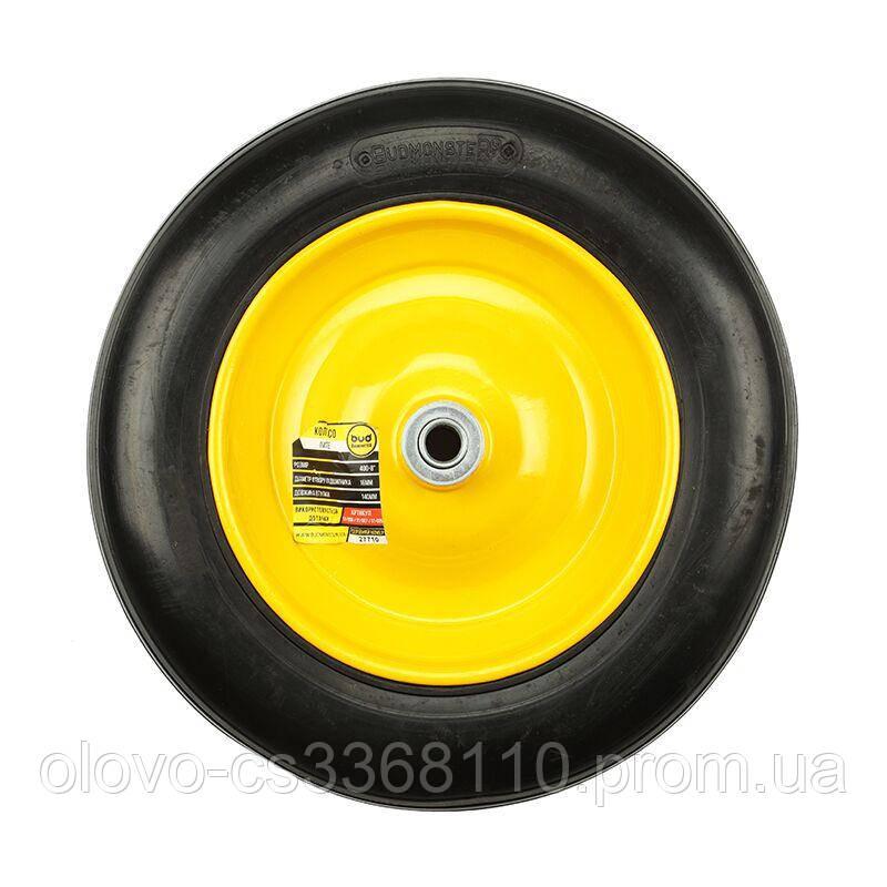 "Колесо BudMonster лите 4.0х8 "", о/d=16мм, d=35см, втулка 130мм (01-047)"