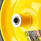 "Колесо BudMonster лите 4.0х8 "", о/d=16мм, d=35см, втулка 130мм (01-047), фото 4"