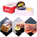 Твердый воск карнаубский Carnauba NANO protection waf MR. Fix  120 гр. ухода за краской + губка и полотенце, фото 4