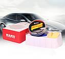 Твердый воск карнаубский Carnauba NANO protection waf MR. Fix  120 гр. ухода за краской + губка и полотенце, фото 5