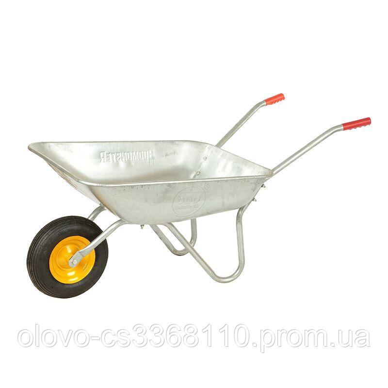 Тачка BudMonster садова 1-колісна (70 л, г / п 120 кг) (01-001)