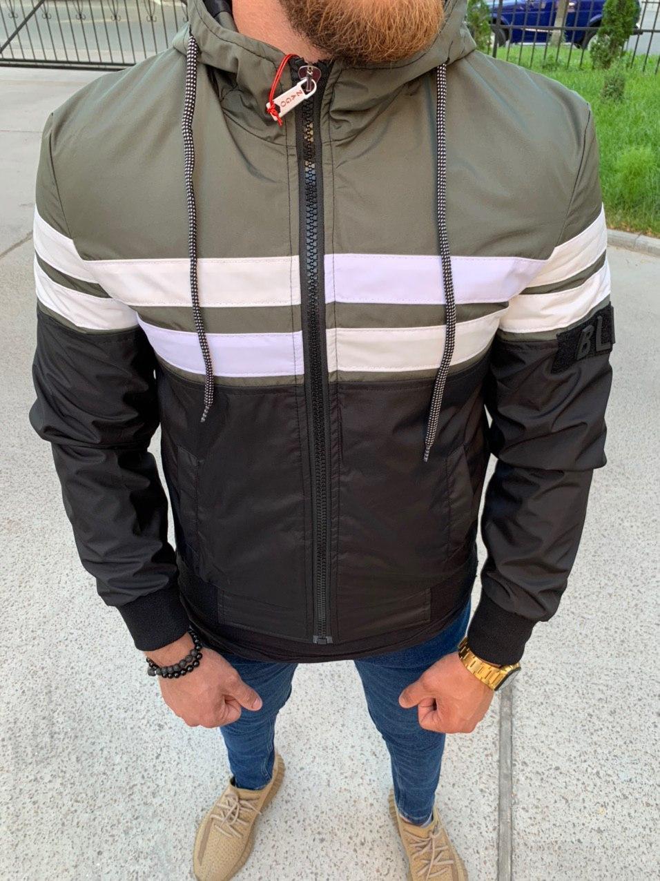 Мужская куртка Black 34-544