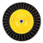 "Колесо BudMonster лите посилене 4.0х8 "", о/d=20мм, d=38см, втулка 130мм (01-054), фото 4"