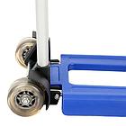 Візок BudMonster з телескопічною ручкою 42х35х98 колесо 7см (синя) 1.6 кг (ВМ-Н-445), фото 3